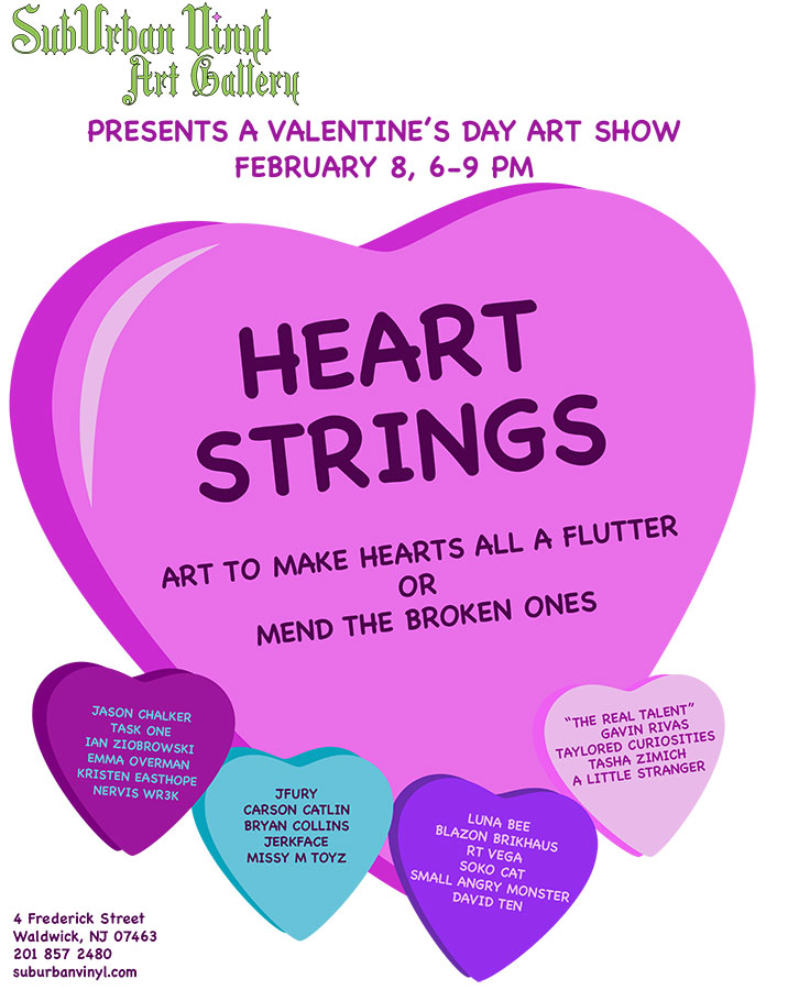 Heart Strings - Valentine's Day Art Gallery